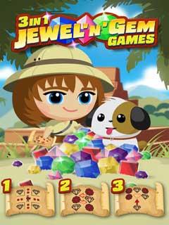 3 in 1 Jewel n' Gem Games