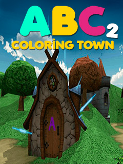 ABC Colouring Town 2