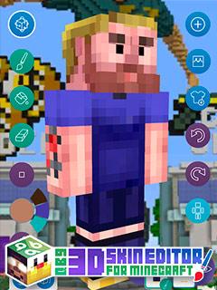 3D Skin Editor para Minecraft