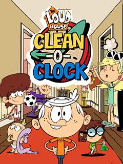 Loud House Clean O' Clock